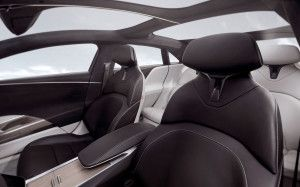 Lucid Air front sits2