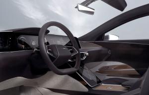Lucid Air steering wheel
