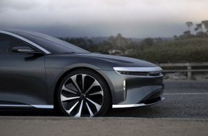 Lucid Air right